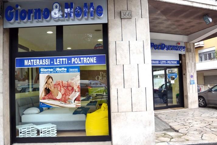 Punti vendita - Roma Gregorio VII - Giorno & Notte  MATERASSI - LETTI - POLTRONE