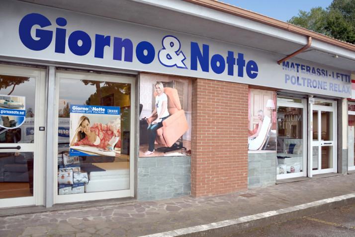 Punti vendita - Roma Nomentana - Giorno & Notte  MATERASSI - LETTI - POLTRONE