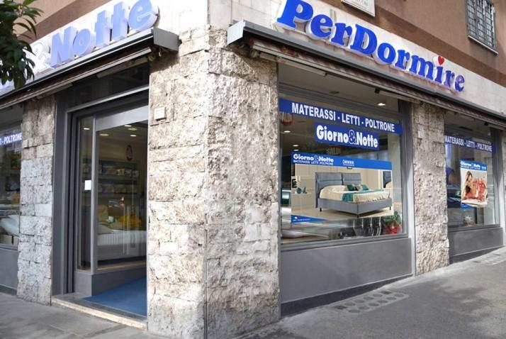 Punti vendita - Roma Tiburtina - Giorno & Notte  MATERASSI - LETTI - POLTRONE