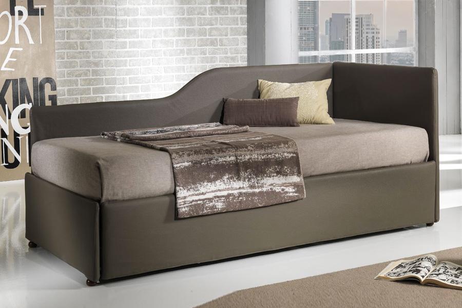Letto con sottoletto estraibile latest letto con letto estraibile singolo moderno in - Letto estraibile moderno ...