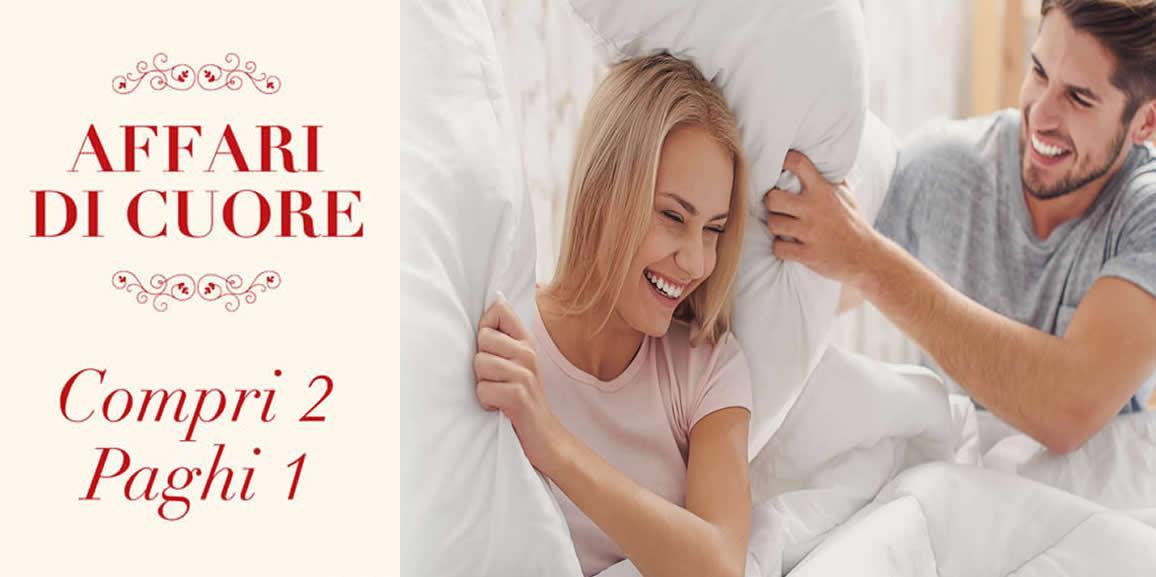 Affari di Cuore: 2 cuscini al prezzo di 1 per festeggiare San Valentino